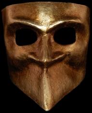 Bauta style Carnival mask